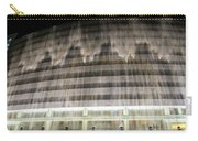 Water Cascade Over Building Carry-all Pouch