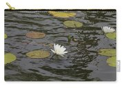 Water Circles On The Lily Pond Carry-all Pouch
