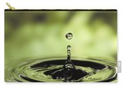 Water Drop And Ripples Carry-all Pouch