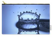 Water Drop Splashes Carry-all Pouch