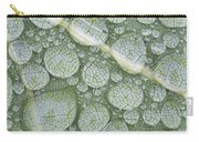 Water Droplets On Leaf, Annapolis Carry-all Pouch