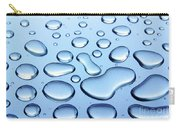 Water Drops Carry-all Pouch by Carlos Caetano