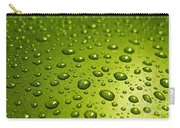 Green Card. Macro Photography Series Carry-all Pouch