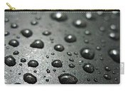 Water Drops On Metal Pan Carry-all Pouch