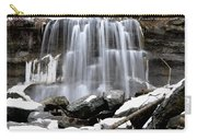 Water Falls At Rock Glen Carry-all Pouch