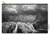 Water Falls At The Aquasabon River Mouth Carry-all Pouch