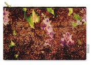 Water Flowers Vietnam Carry-all Pouch by Skip Nall