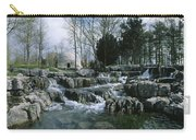 Water Flowing In A Garden, St. Fiachras Carry-all Pouch