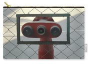 Water Hydrants Built Into A Wire Mesh Fence Carry-all Pouch
