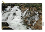 Water In Motion Glen Alpine Falls Carry-all Pouch