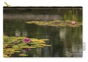 Water Lilies And Lily Pads Carry-all Pouch