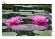 Water Lilies Carry-all Pouch by Bill Cannon