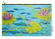 Water Lilies Panorama Carry-all Pouch