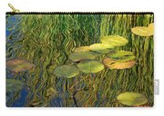 Water Lilies Reflection Carry-all Pouch