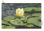 Water Lily Cometh Carry-all Pouch