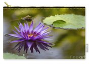 Water Lily Kissing The Water Carry-all Pouch