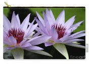 Water Lily Twins Carry-all Pouch