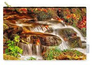 Water Over The Rocks Carry-all Pouch