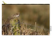 Water Pipit On Post Carry-all Pouch