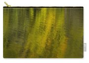 Water Reflection Abstract Autumn 1 A Carry-all Pouch