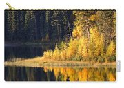 Water Reflection At Jade Lake In Northern Saskatchewan Carry-all Pouch
