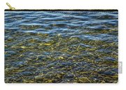 Water Ripples And Reflections On Lake Huron Carry-all Pouch