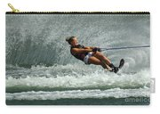 Water Skiing Magic Of Water 2 Carry-all Pouch by Bob Christopher