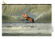 Water Skiing Magic Of Water 4 Carry-all Pouch by Bob Christopher