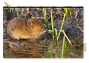 Water Vole At Dusk Carry-all Pouch