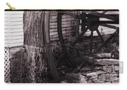 Water Wheel Old Mill Cherokee North Carolina  Carry-all Pouch by Susanne Van Hulst