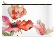 Watercolor Background Carry-all Pouch