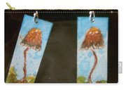 Watercolor Earrings Slender  Mushroom Carry-all Pouch
