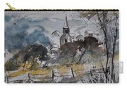 Watercolor Lesterny Carry-all Pouch