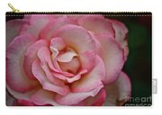 Watercolor Petals Carry-all Pouch
