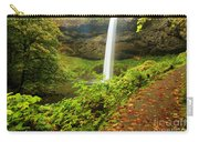 Waterfall Along The Trail Carry-all Pouch