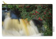 Waterfall And Fuschia, Ireland Carry-all Pouch