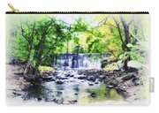 Waterfall At Gladwynn Carry-all Pouch