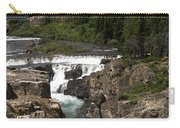 Waterfall At Many Glacier Carry-all Pouch