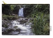 Waterfall In A Forest, Glenoe Carry-all Pouch