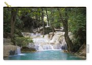 Waterfall In Deep Forest Carry-all Pouch by Setsiri Silapasuwanchai