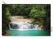 Waterfall In Tropical Forest Carry-all Pouch