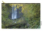 Waterfall Of Vaucoux. Puy De Dome. Auvergne. France Carry-all Pouch