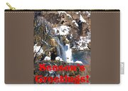 Waterfall Seasons Greeting Carry-all Pouch