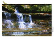 Waterfall Trio At Mcconnells Mill State Park Carry-all Pouch