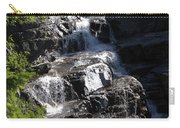 Waterfalls Along Going-to-the-sun Road Carry-all Pouch