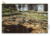 Waterfalls, During The Autumn, Glenoe Carry-all Pouch