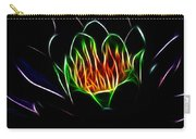 Waterlily Fractal Carry-all Pouch
