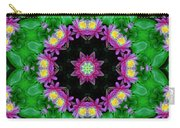 Waterlily Kaleidoscope Carry-all Pouch