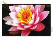 Waterlily On Pond Carry-all Pouch