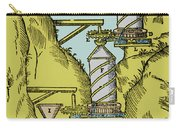 Watermill Reversed Archimedean Screw Carry-all Pouch